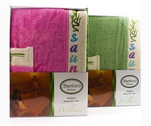 Комплект для сауны Gursan  Bamboo Wellness Women